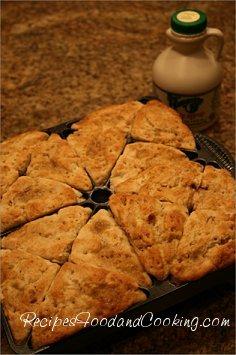 maple pecan scones recipe
