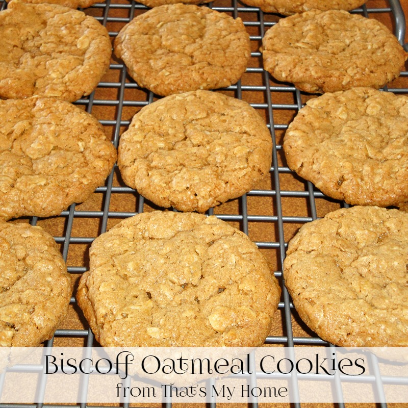 Biscoff Oatmeal Cookies - Recipes Food and Cooking