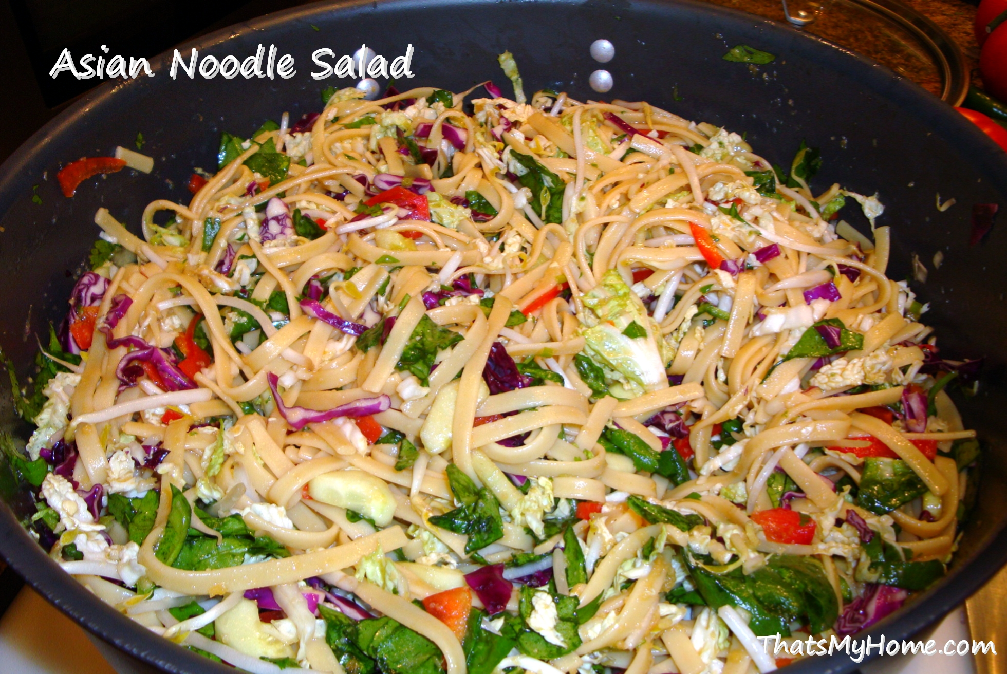 Asian Noodle Salad - Recipes, Food and Cooking