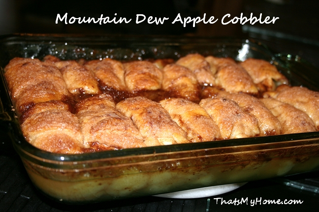 Mountain Dew Apple Cobbler - Recipes Food and Cooking