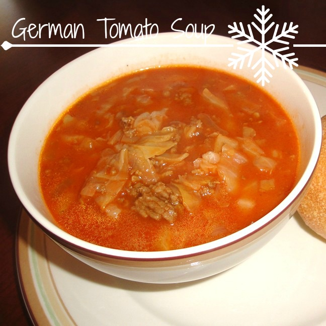 german tomato soup recipe from recipesfoodandcooking.com