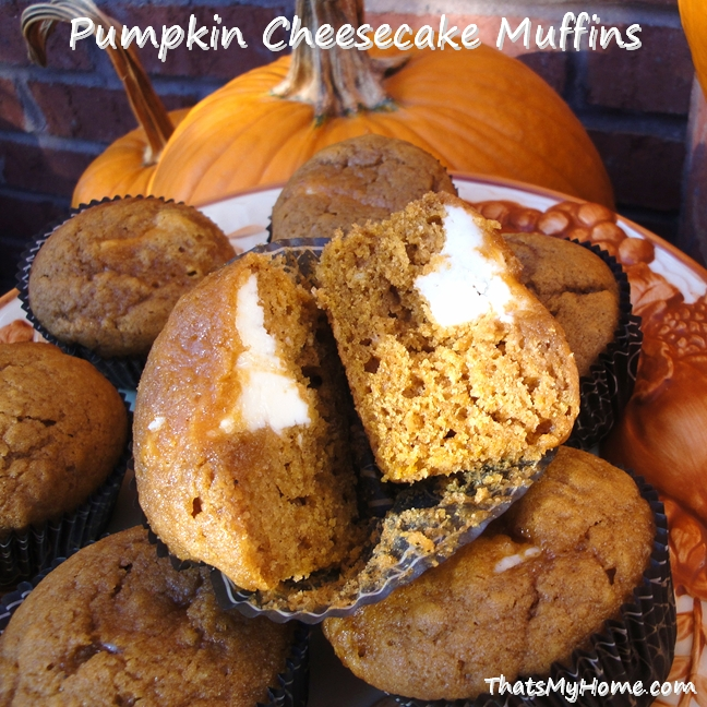 pumpkin cheesecake muffins recipe