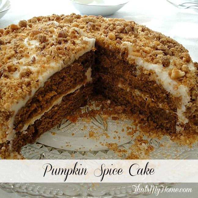 pumpkin spice cake recipe from recipes, food and cooking.com