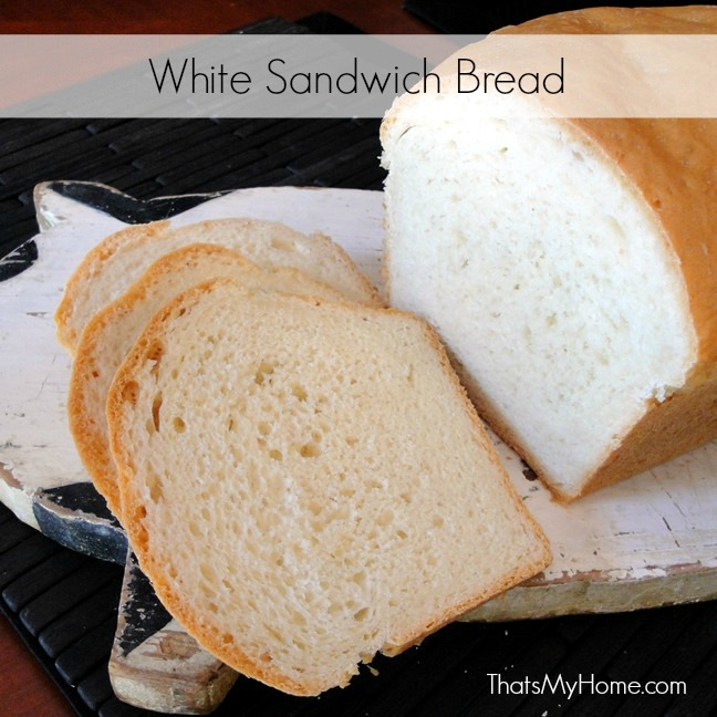 white sandwich bread recipe from recipes, food and cooking
