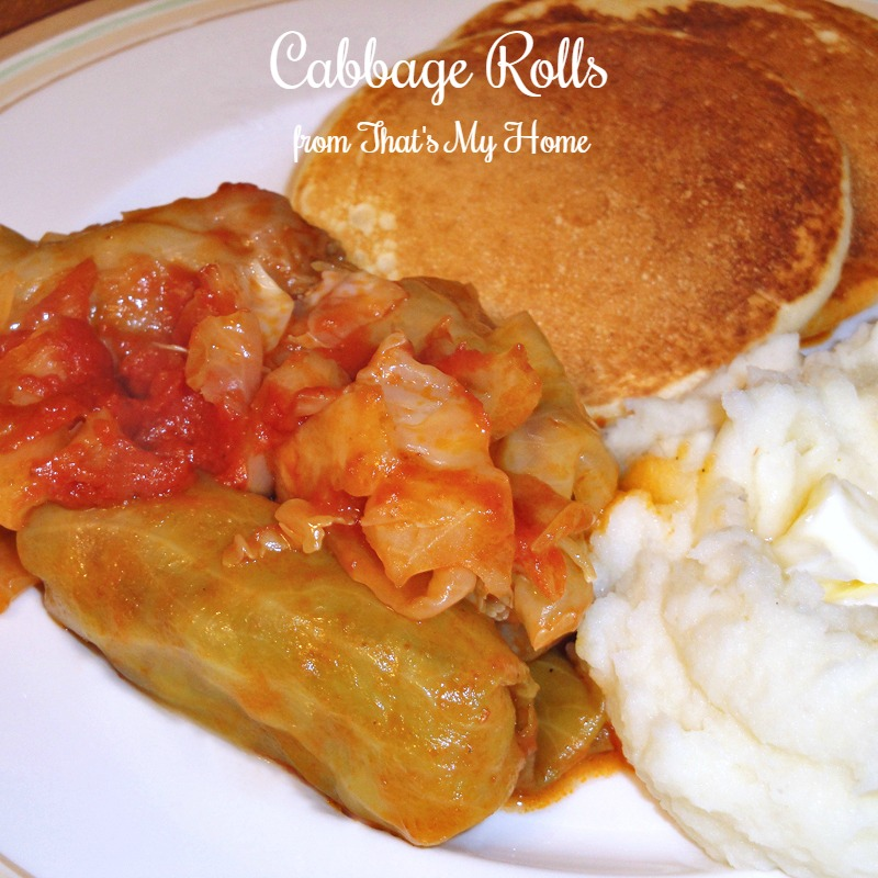 how to make cabbage rolls