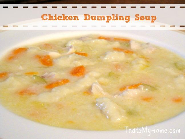 chicken dumpling soup recipe from recipesfoodandcooking.com