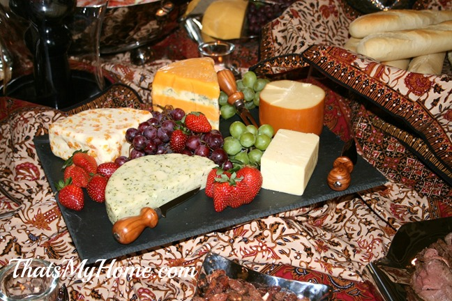 appetizer party, cheese tray from recipes food and cooking.com