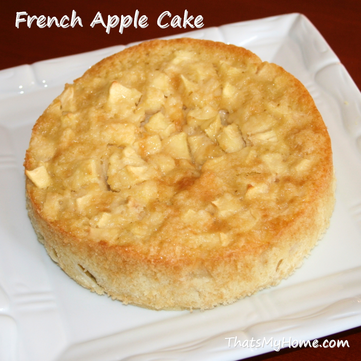 French Apple Cake - Recipes, Food and Cooking