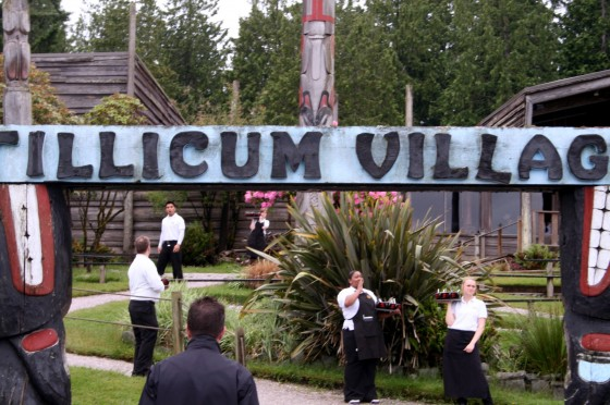 Tillicum Village Salmon
