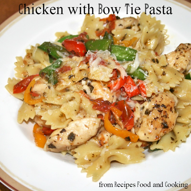 Parmesan Chicken Bowties Recipe