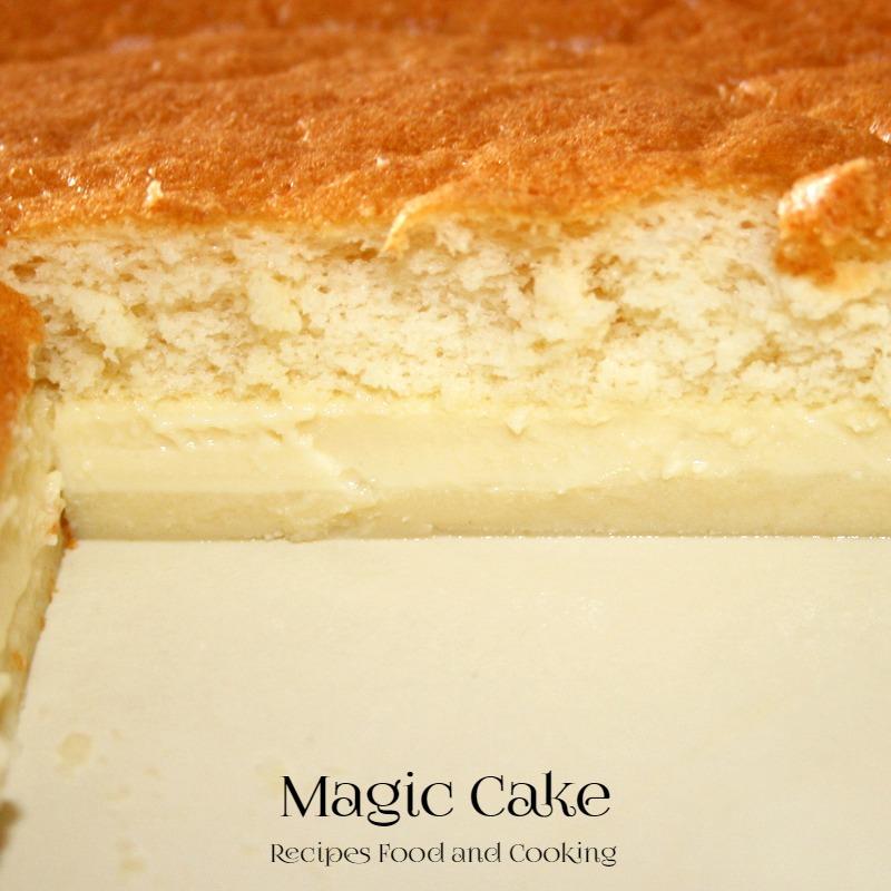 Strawberry Magic Cake
