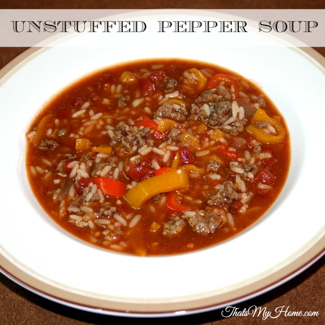 unstuffed-pepper-soup from recipes food and cooking