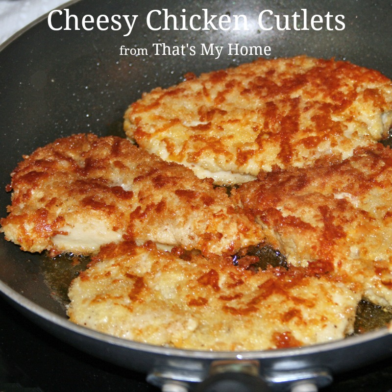 Cheesy chicken cutlets recipes food and cooking cheesy chicken cutlets forumfinder Images