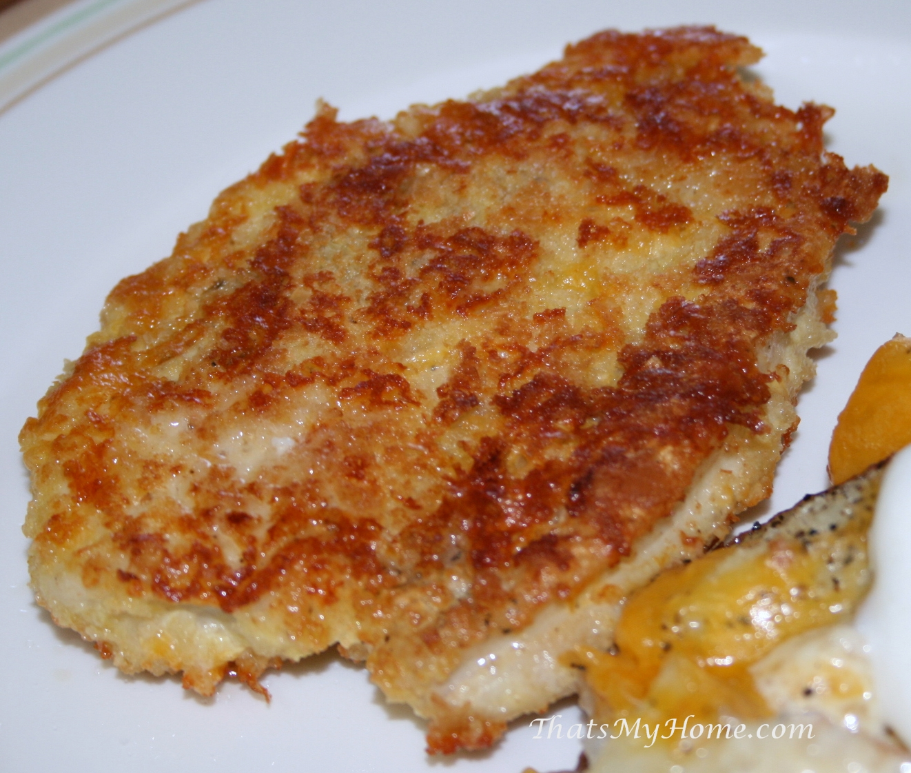Cheesy Chicken Cutlets - Recipes Food and Cooking