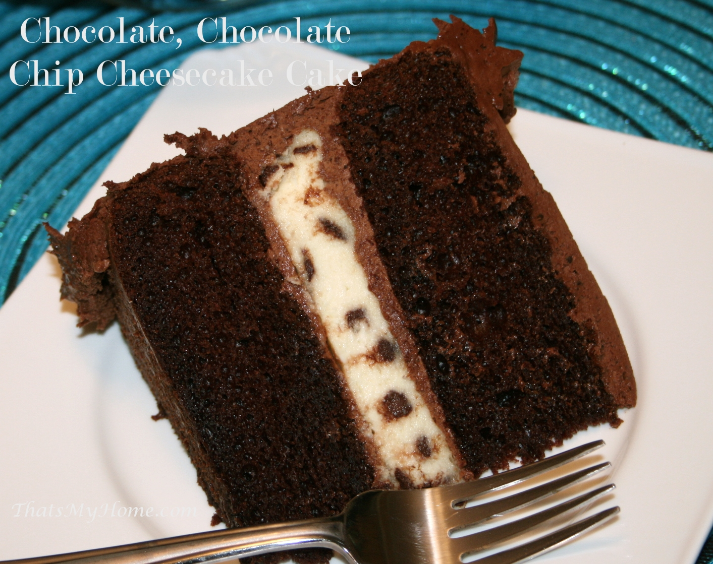 chocolate-chip-cheesecake-cake-4