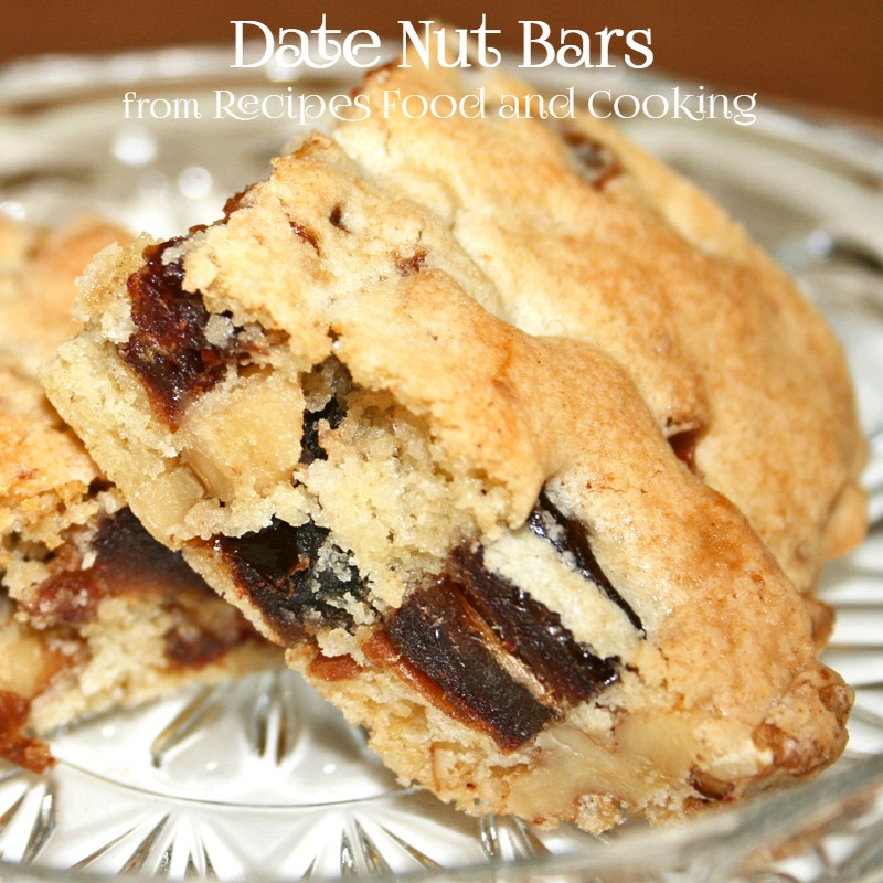 Date nut bars recipes food and cooking for Food bar recipes