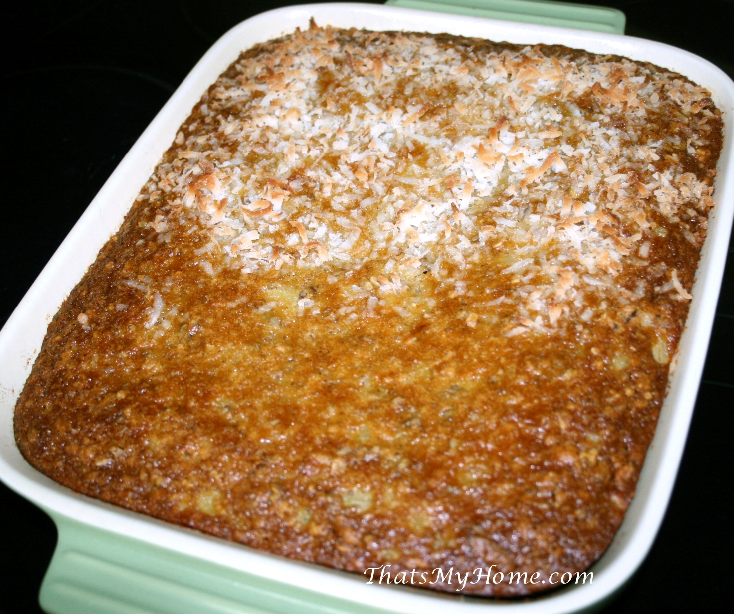 Pineapple Pecan Cake Save Print With Cream Cheese Frosting