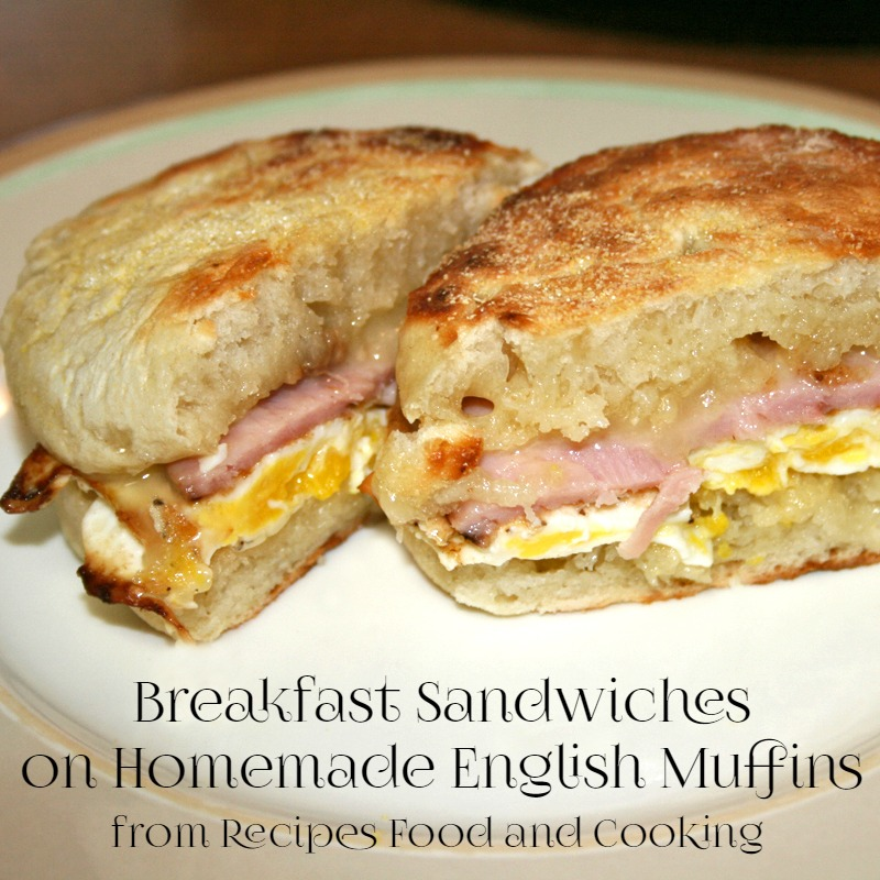 Homemade English Muffins - Recipes Food and Cooking