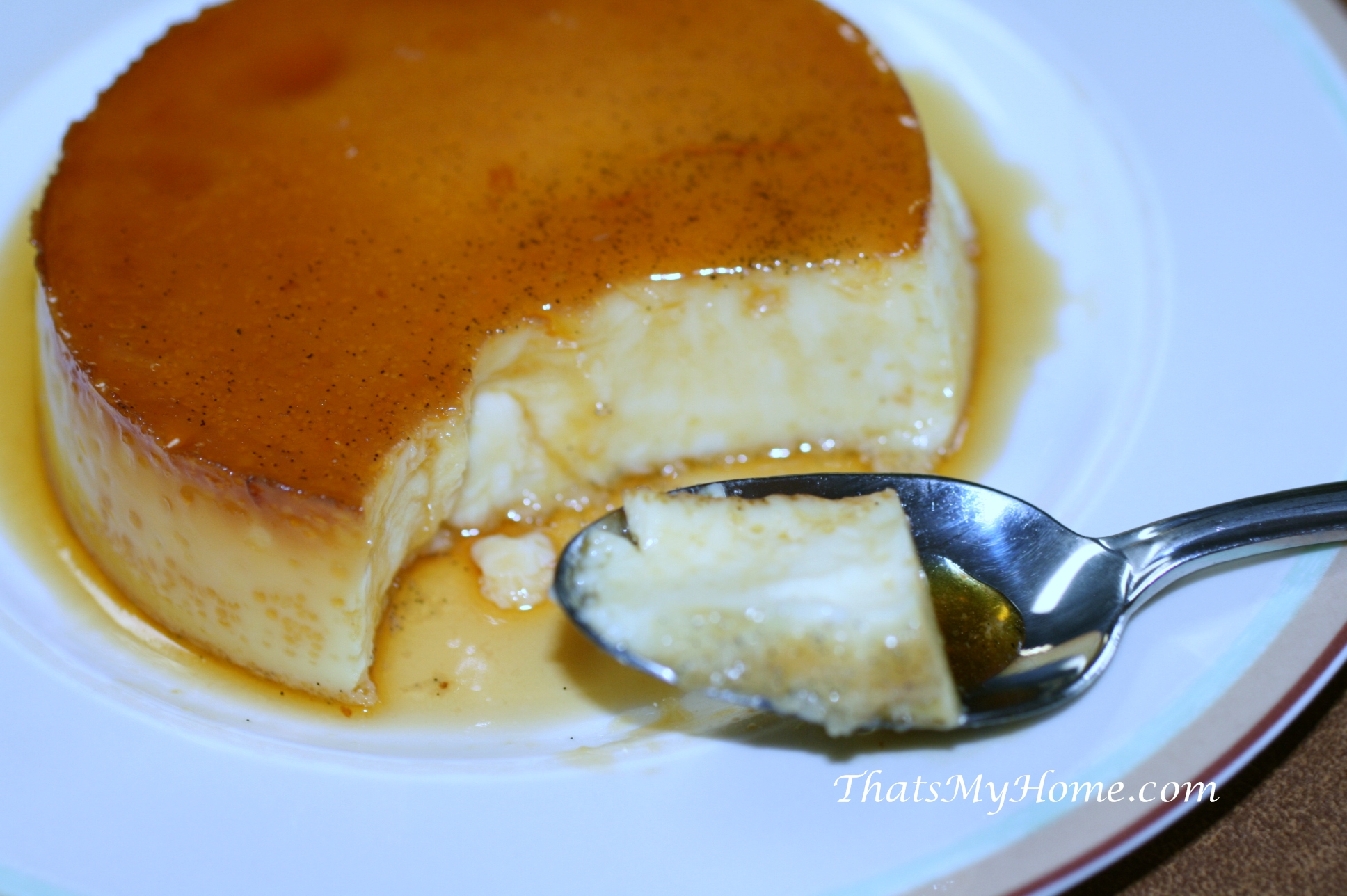 Mexican Flan - Recipes, Food and Cooking