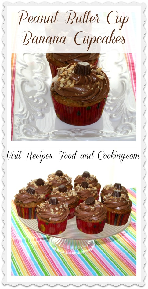 peanut-butter-cup-banana-cupcakes from recipes, food and cooking.com