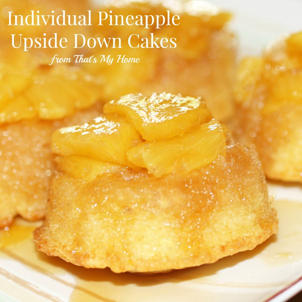 Pineapple Upside Down Cakes at Recipes Food and Cooking