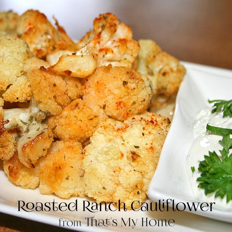 Roasted Ranch Cauliflower
