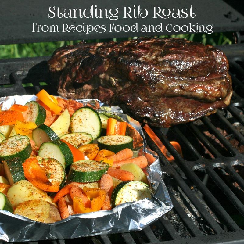 Grilled Boneless Standing Rib Roast