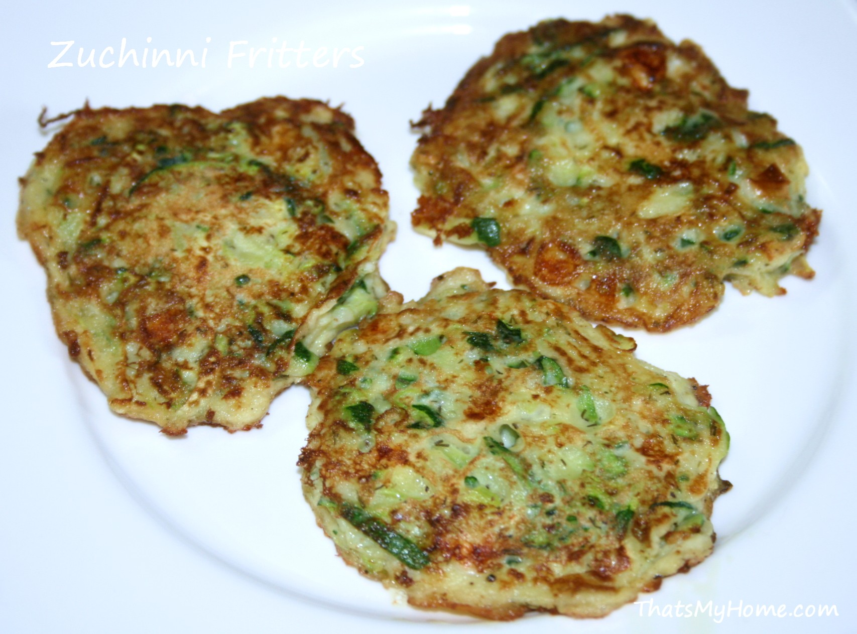 Zucchini Fritters - Recipes Food and Cooking