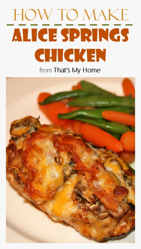 Alice Springs Chicken - Recipes Food and Cooking