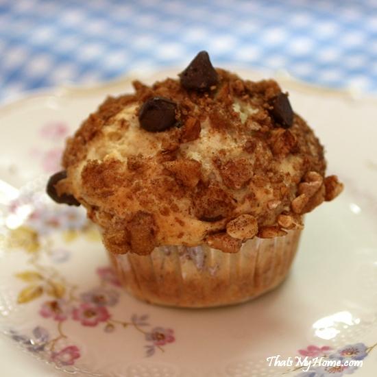 banana chocolate chip muffins recipe