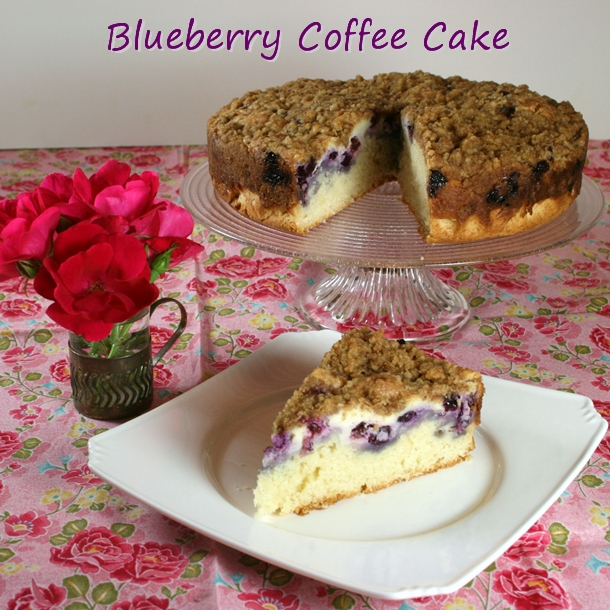 blueberry coffeecake recipe