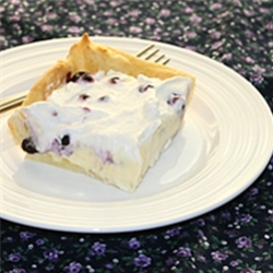 blueberry eclair cake recipe