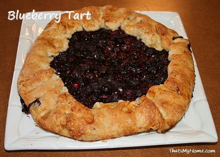 how to make blueberry tart filling