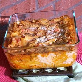 cheesy garlic pasta recipe
