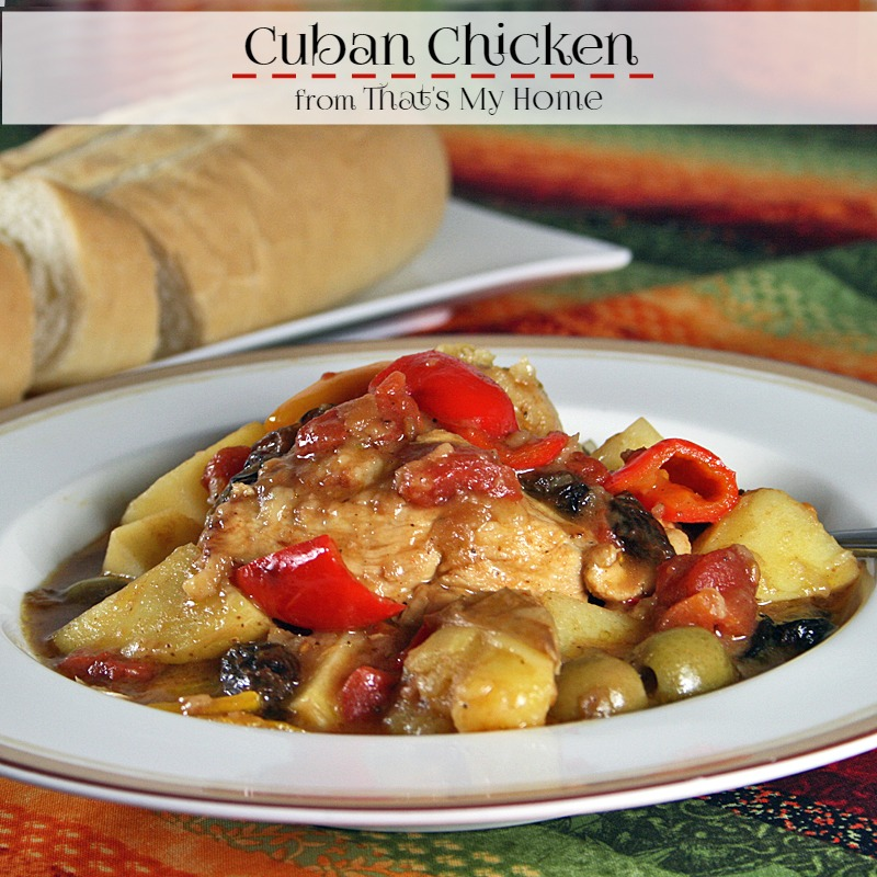 Cuban Chicken from Recipes Food and Cooking