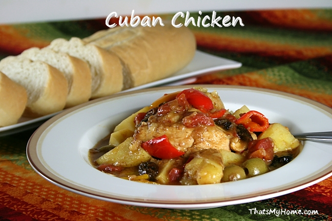 cuban chicken recipe
