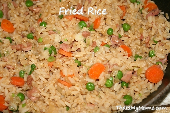 Chinese Fried Rice - Recipes Food and Cooking