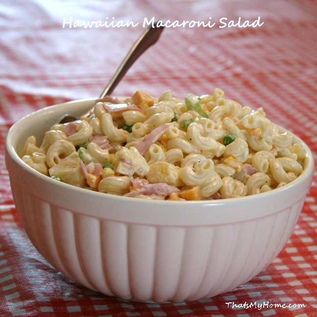 Gallery For Macaroni Salad With Ham Recipe