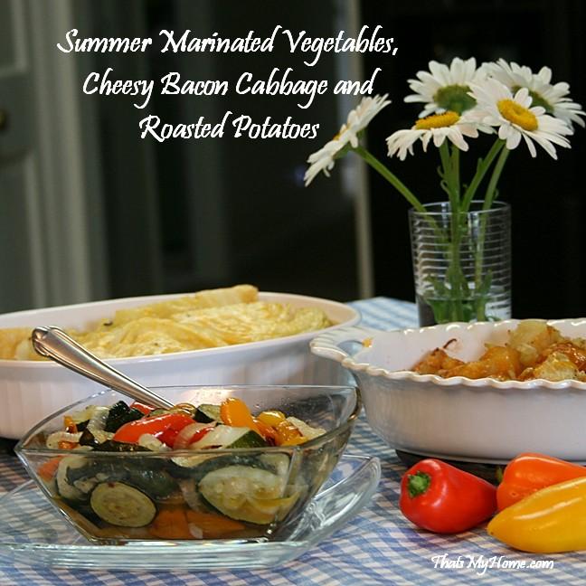 marinated summer vegetables recipe