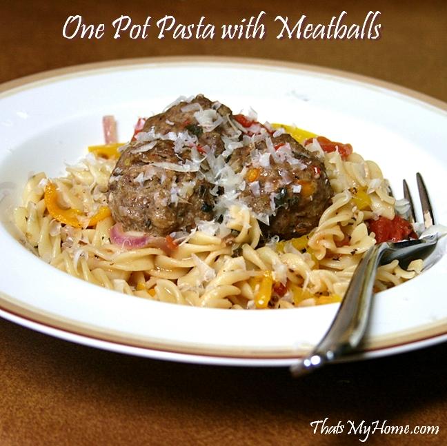 one pot pasta recipe