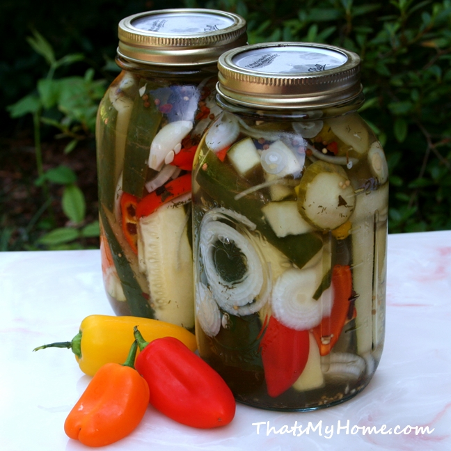 Refrigerator Pickles - Recipes Food and Cooking