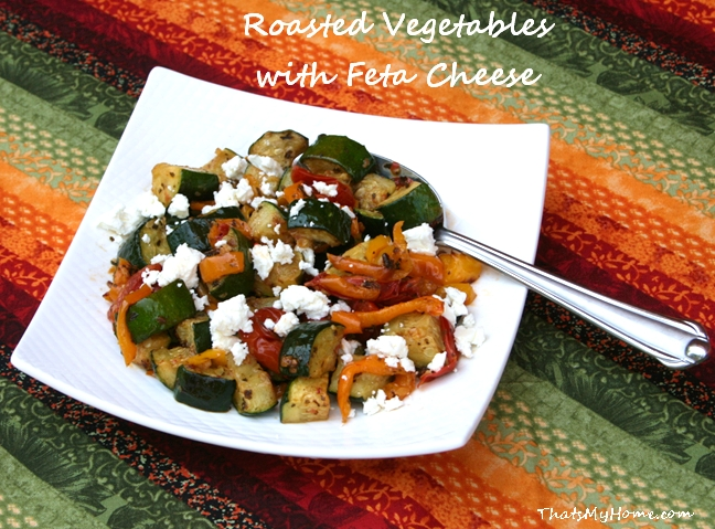 roasted vegetables with feta recipe