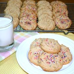vanilla malt butter cookies