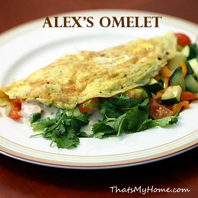 3 egg omelet recipe