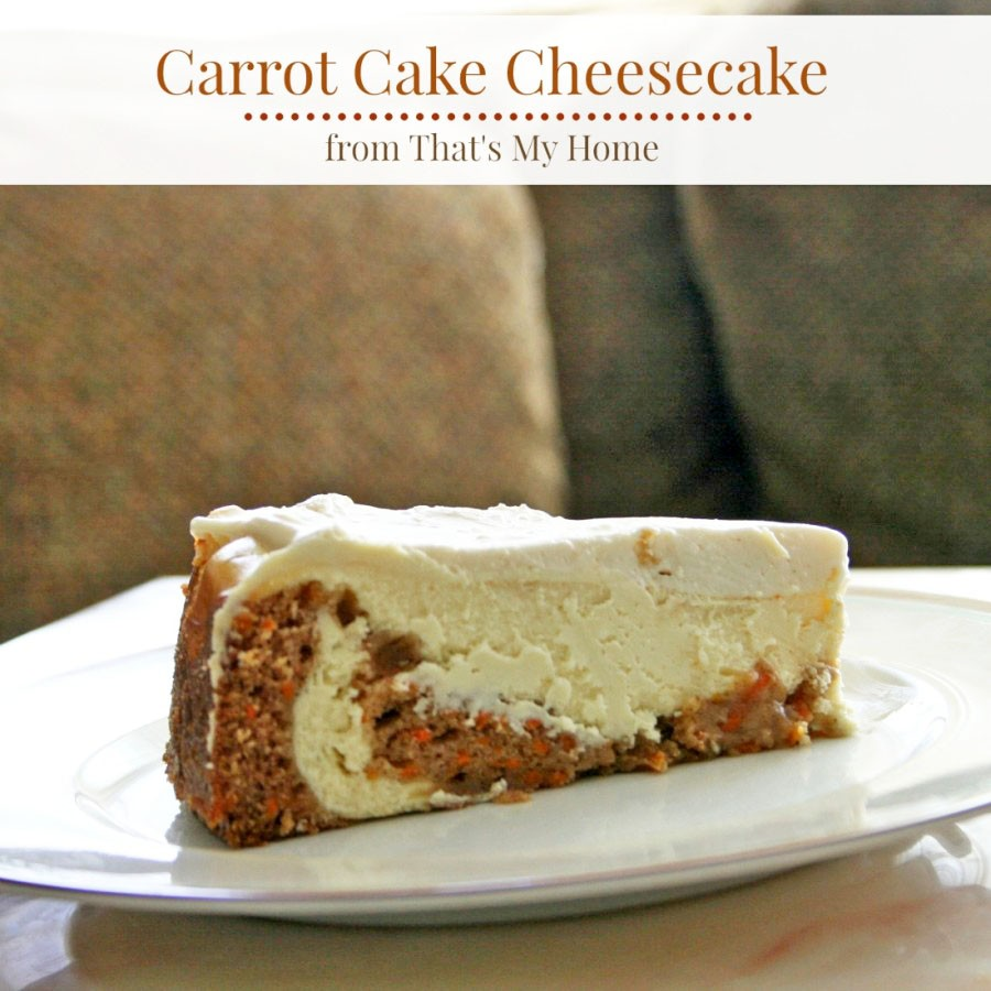 Carrot Cheesecake With Marzipan Carrots Recipe — Dishmaps
