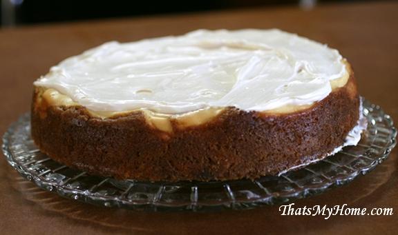 carrot cake cheesecake recipe