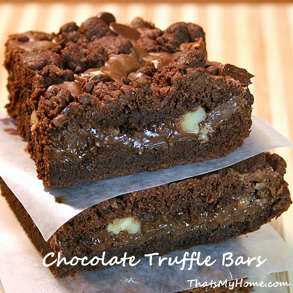 chocolate truffle bars recipe