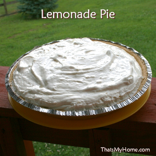 lemonade refrigerator pie recipe