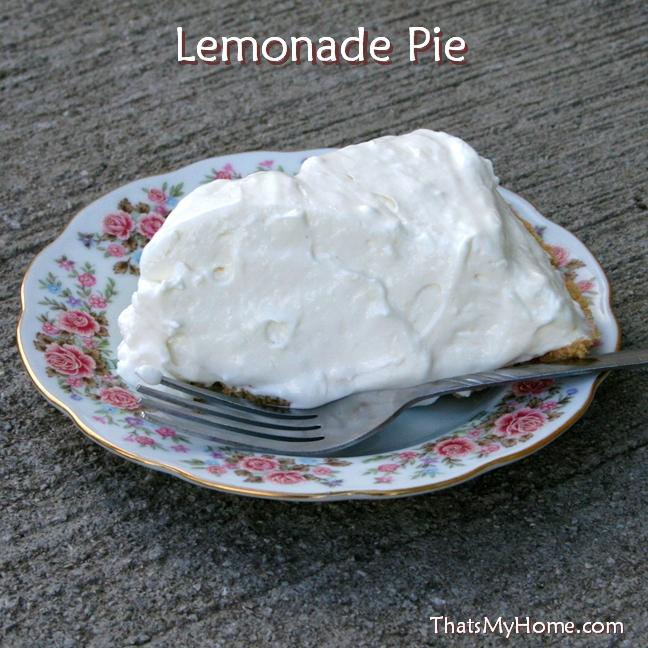 lemonade refrigerator pie recipe
