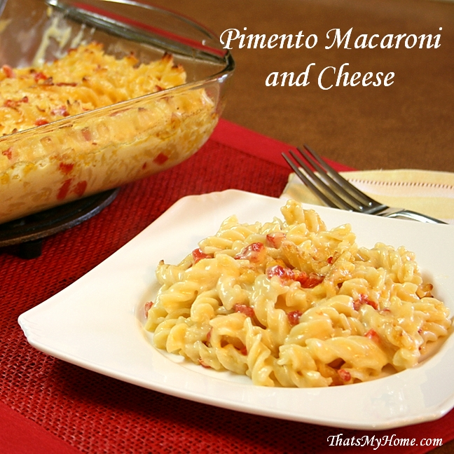 Pimento Macaroni and Cheese - Recipes Food and Cooking